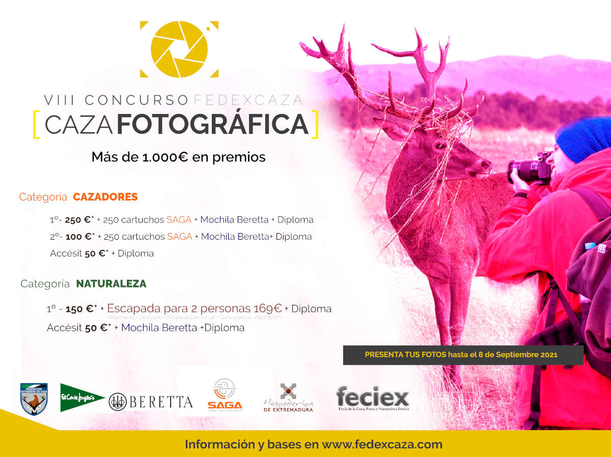 8º Concurso Caza Fotográfica